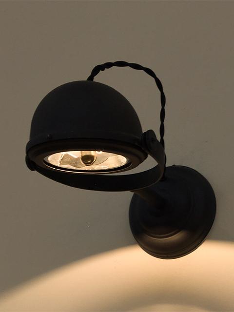 Frezoli Lupia Wandlamp Mat Zwart