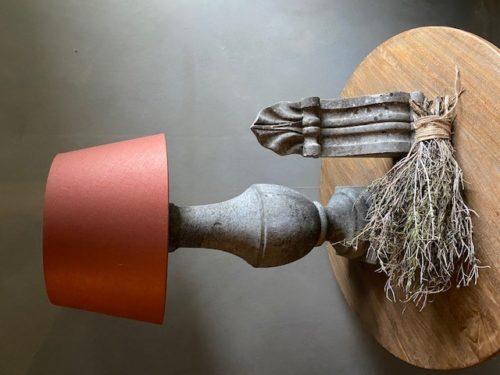 Tafellamp Beton Balustermodel
